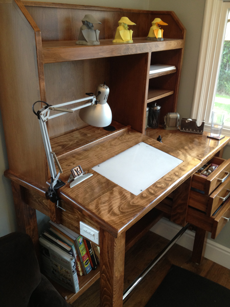 Great Guys, I Want To Talk To You About My New Standing Drafting Table. Itu0027s My  Favoritest Thing In The World. Hereu0027s A Pic: