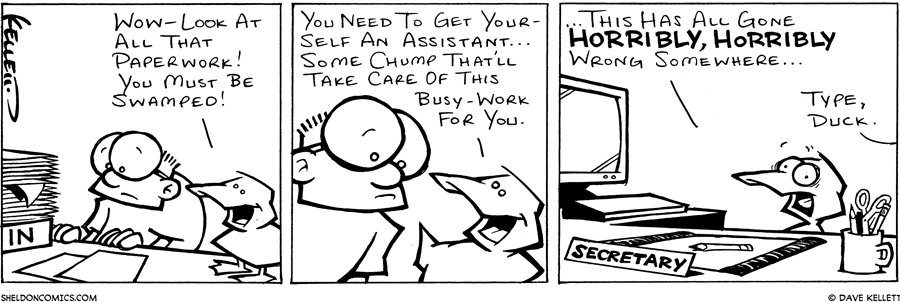 strip for December / 28 / 2001