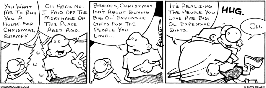 strip for December / 25 / 2002