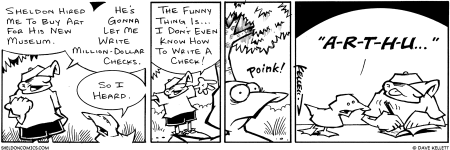 strip for January / 1 / 2003