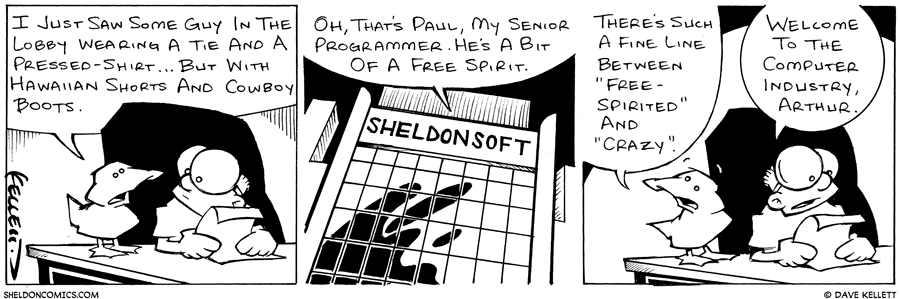 strip for March / 5 / 2003