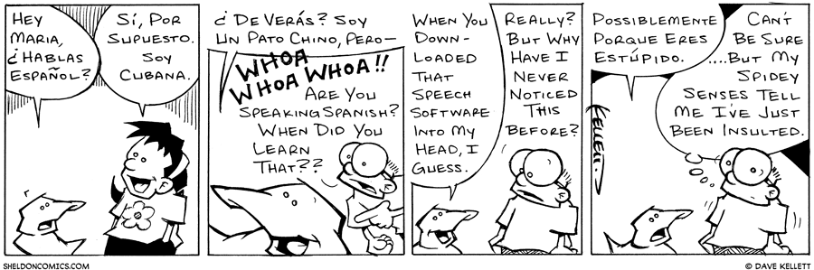 strip for March / 18 / 2003