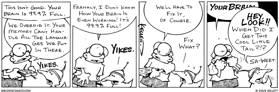 strip for March / 22 / 2003