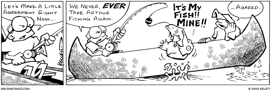 strip for April / 9 / 2003