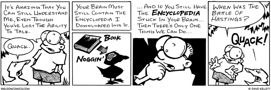 strip for October / 6 / 2003