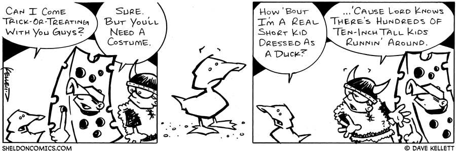 strip for October / 31 / 2003