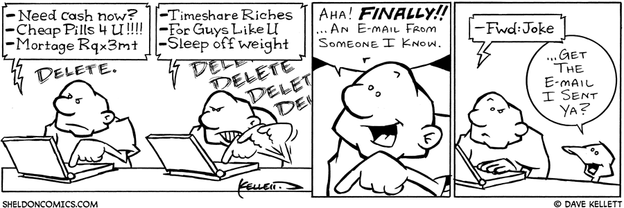 strip for December / 2 / 2003