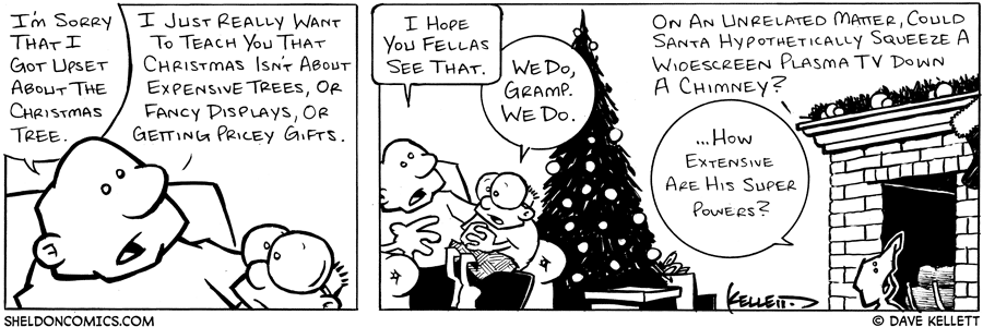 strip for December / 24 / 2003