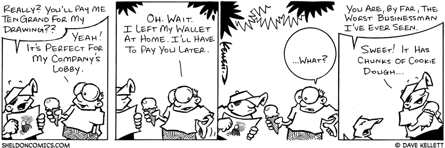 strip for January / 9 / 2004