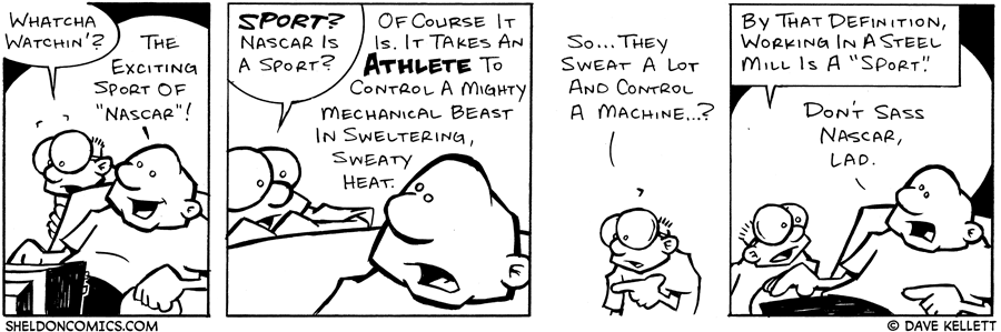 strip for February / 9 / 2004