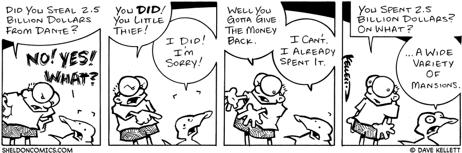 strip for July / 9 / 2004