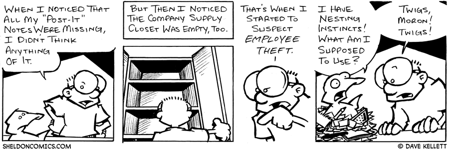 strip for August / 9 / 2004