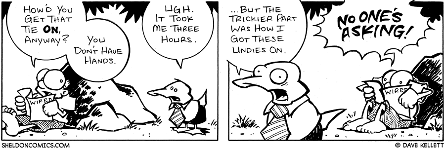 strip for October / 15 / 2004