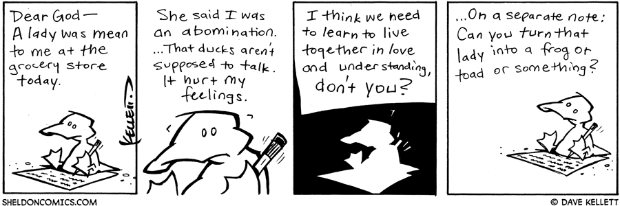 strip for October / 21 / 2004