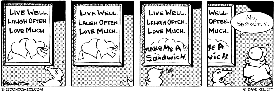 strip for December / 3 / 2004