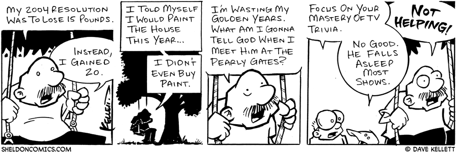 strip for December / 28 / 2004