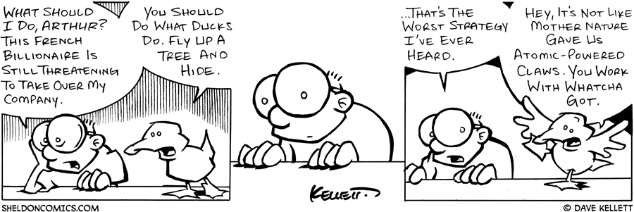 strip for February / 7 / 2005