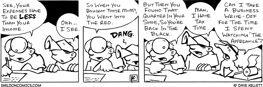 strip for February / 21 / 2005
