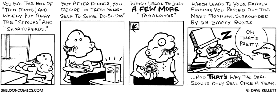 strip for April / 8 / 2005