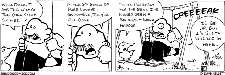 strip for April / 9 / 2005