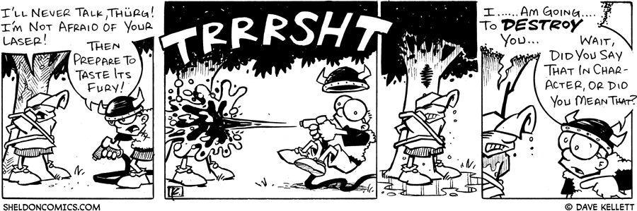 strip for April / 28 / 2005
