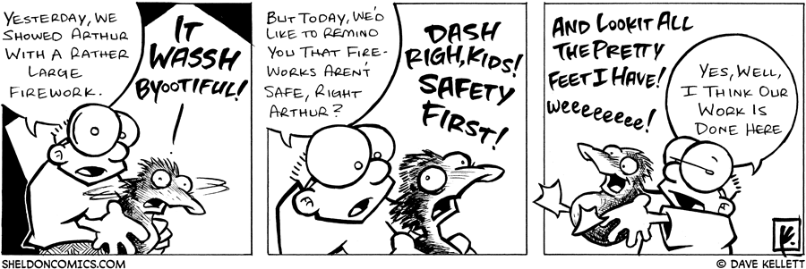 strip for July / 4 / 2005