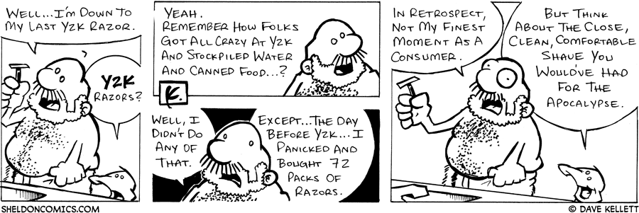 strip for August / 16 / 2005