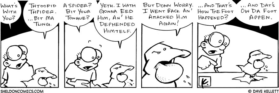 strip for August / 20 / 2005