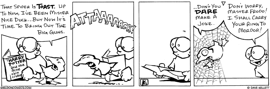 strip for August / 23 / 2005