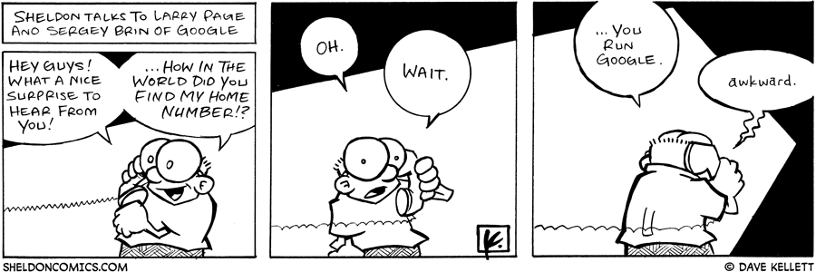 strip for October / 8 / 2005