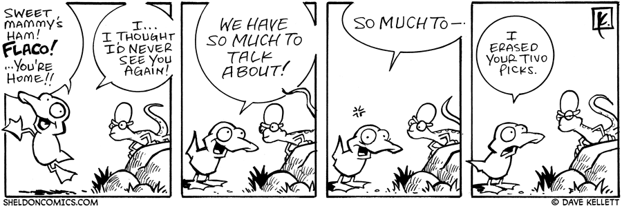 strip for June / 17 / 2006 - The awkwardness of reunions....