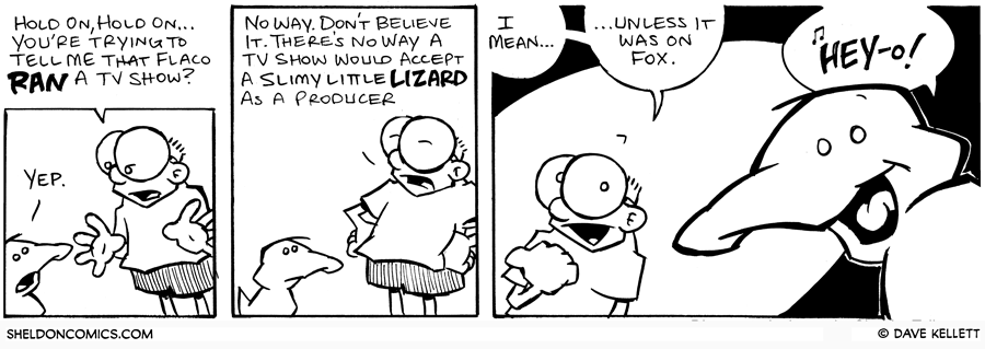 strip for June / 24 / 2006 - Slimy little lizards and their careers