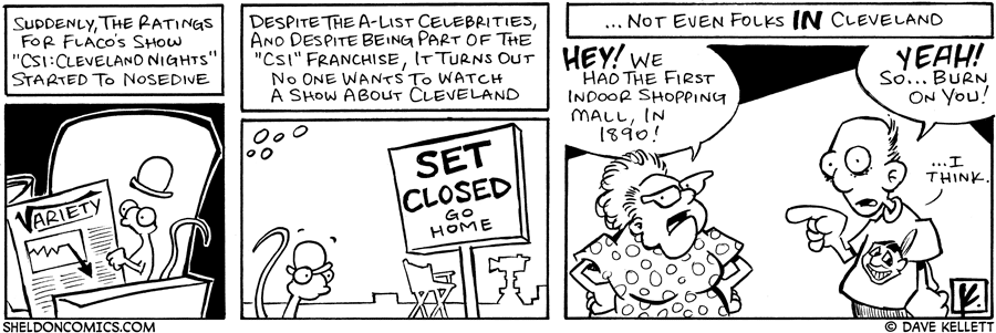 strip for June / 27 / 2006 - Set closed- go home!