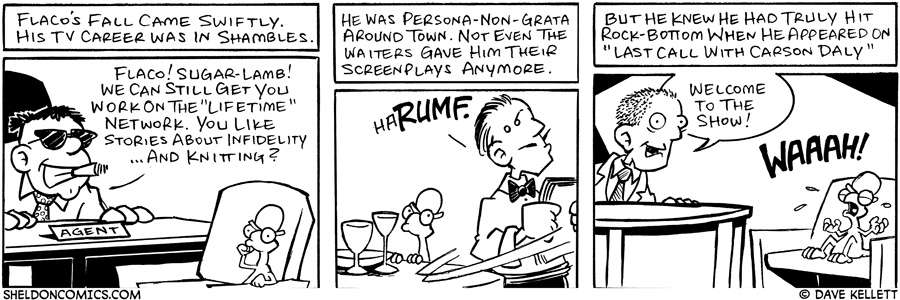 strip for June / 28 / 2006 - You know your career is over when....
