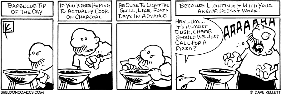 strip for July / 5 / 2006 - BBQ Tips....