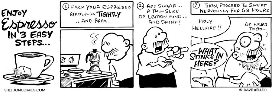 strip for July / 8 / 2006 - Espressoooooooooo