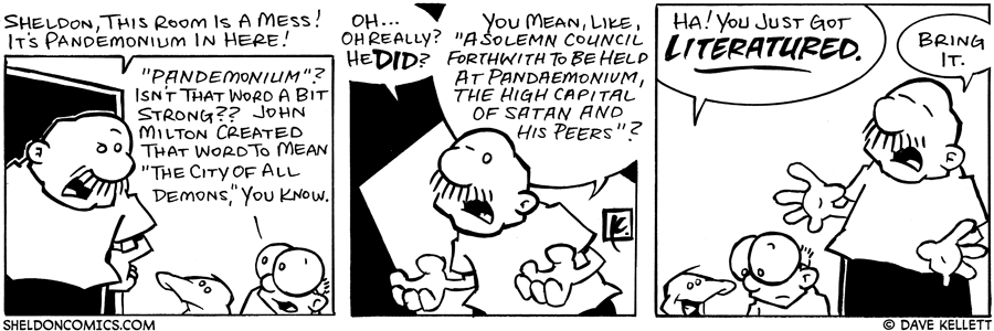 strip for July / 13 / 2006 - It's a Pandemonium in Here!