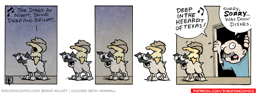 strip for July / 19 / 2006 - The Stars at Night...