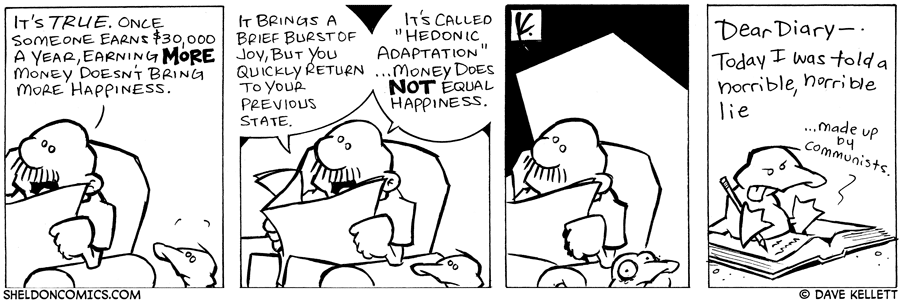 strip for July / 24 / 2006 - Can't Buy Happiness