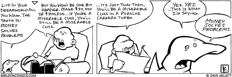 strip for July / 25 / 2006 - Money Solves Problems?