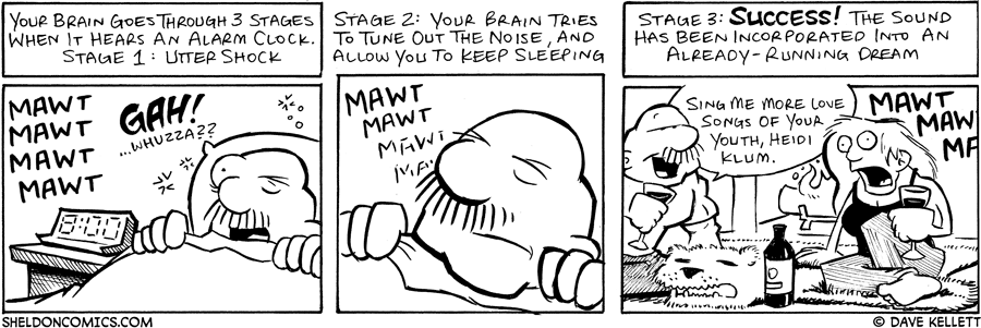 strip for August / 8 / 2006 - WAKE UP!!!