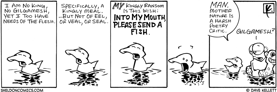 strip for August / 10 / 2006 - Kingly Ransom