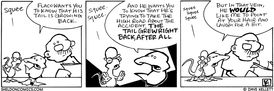 strip for August / 17 / 2006 - Apologies..
