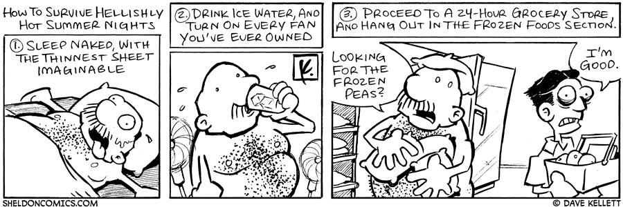 strip for August / 18 / 2006 - HOT Summer Nights