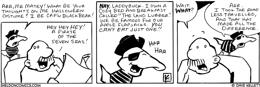 strip for October / 18 / 2006
