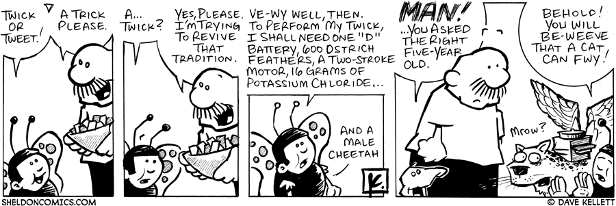 strip for October / 31 / 2006