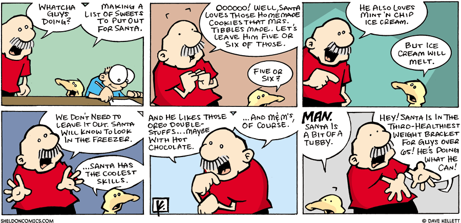 strip for December / 24 / 2006