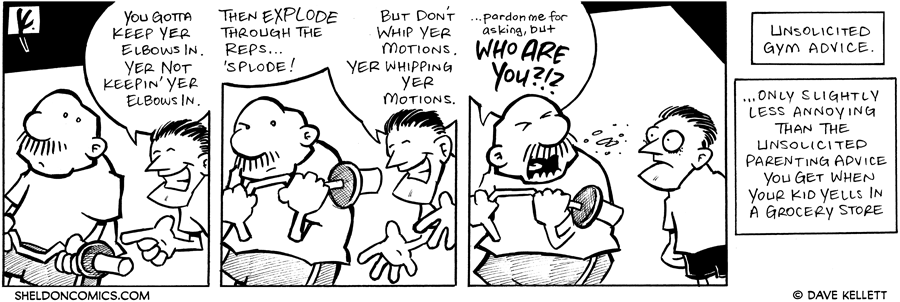 strip for March / 19 / 2007