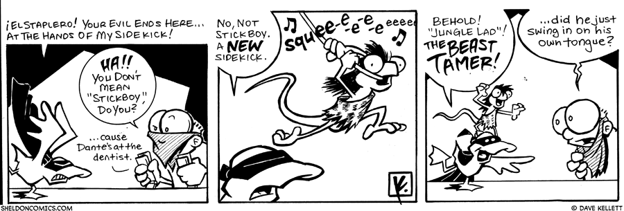 "strip for May / 2 / 2007 - Who has replaed ""Stickboy"" as the new sidekick?"