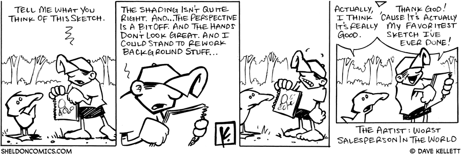 strip for August / 6 / 2007 - What do you think of this sketch?